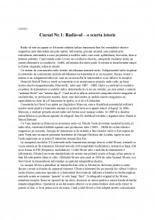 Tehnici de lucru specializate (Radio) - Pagina 2