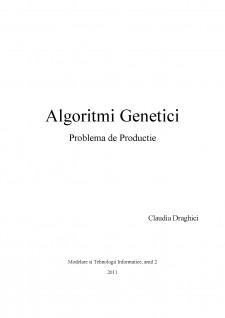 Algoritmi genetici - Pagina 1