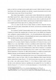 Cultul Maicii Domnului în Vechiul și Noul Testament - Pagina 5