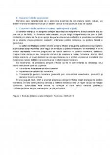 Analiza strategiei de țintire directă a inflației în România - Pagina 3