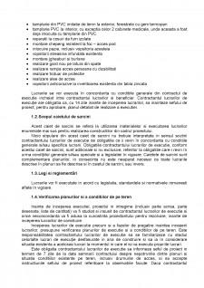 Caiet de sarcini pentru executarea lucrarilor de arhitectura - Pagina 2