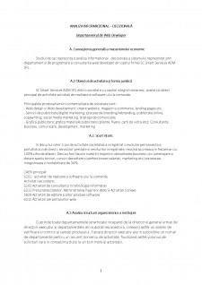 Analiza informational - decizionala - Departamentul de web developer - Pagina 1