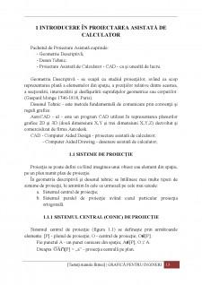 Proiectare asistată de calculator - Pagina 1