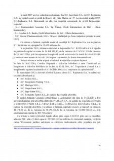 Diagnosticul întreprinderii SC Ropharma SA - Pagina 4