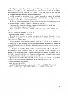Diagnosticul întreprinderii SC Ropharma SA - Pagina 5