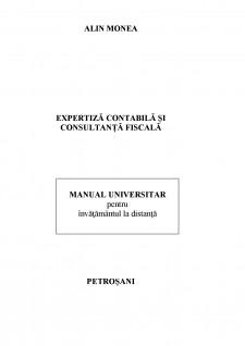 Expertiză contabilă și consultanță fiscală - Pagina 1
