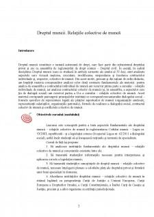 Dreptul muncii - Relațiile colective de muncă - Pagina 2