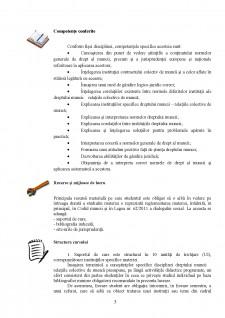 Dreptul muncii - Relațiile colective de muncă - Pagina 3