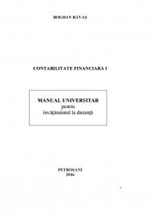 Contabilitate financiară I - Pagina 1