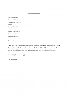 Types of bussiness correspondence - Pagina 3