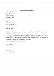 Types of bussiness correspondence - Pagina 4