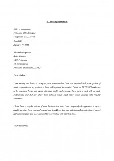 Types of bussiness correspondence - Pagina 5