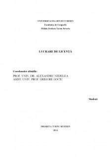 Studiu geografic al comunei Șișești - Pagina 1