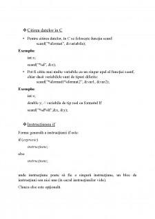 Limbaj de programare C - Lab nr 1 - Pagina 4