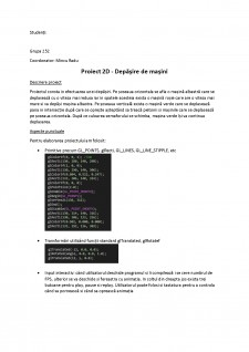 Proiect grafică (depășire de mașini) - Pagina 1