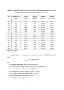 Econometrie - Regresie simplă și multiplă - Pagina 2