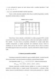 Econometrie - Regresie simplă și multiplă - Pagina 3