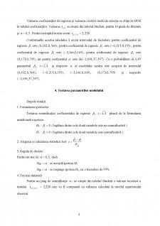 Econometrie - Regresie simplă și multiplă - Pagina 5