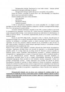 Proiect de strategie în domeniul privat - Societate Profesională de practicieni în insolvență - Pagina 5