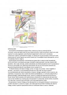 Metode biostratigrafice de reconstituire a paleomediilor de sedimentare continentale - Bazinul hateg - Pagina 3