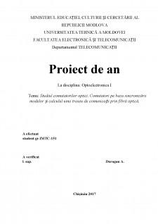 Studiul comutatorilor optici - Comutatori pe baza sincronizării modelor și calculul unui traseu de comunicații prin fibră optică - Pagina 1