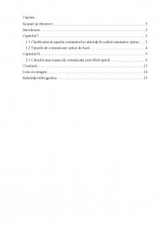 Studiul comutatorilor optici - Comutatori pe baza sincronizării modelor și calculul unui traseu de comunicații prin fibră optică - Pagina 2