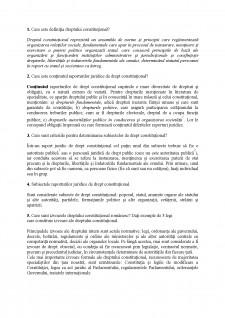 Drept costitutional - Pagina 1