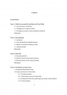 Istoria gândirii economice - Pagina 2