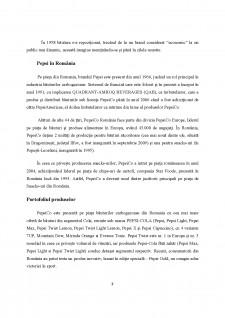 Analiza strategiei de internaționalizare a firmei PepsiCo - Pagina 3