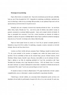 Analiza strategiei de internaționalizare a firmei PepsiCo - Pagina 5