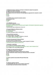 Elemente de tehnologia informatiei I - Pagina 1