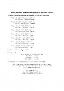 Rezolvarea unei probleme la Agregate și Instalații Termice - Pagina 1