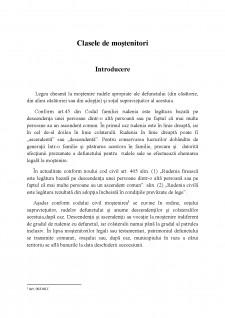 Clasele de moștenitori - Pagina 1