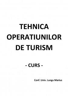 Tehnica operațiunilor de turism - Pagina 1