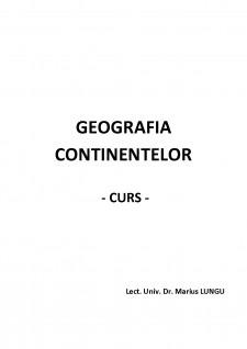 Geografia continentelor - Pagina 1