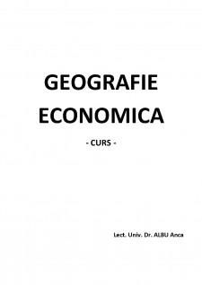 Georgrafie economică - Pagina 1