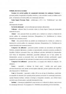 Raport practică - Moldtelecom SA - Pagina 3
