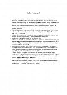Cadastru general - Pagina 1