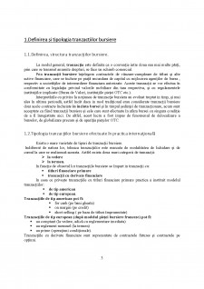 Tranzactiile bursiere si tipologia acestora - Pagina 3