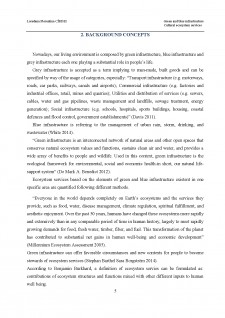 Green and blue infrastructure - Cultural ecosystem services - Pagina 5