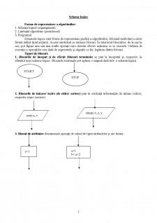 Structuri de control - Pagina 1