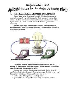Rețele Electrice - Pagina 1