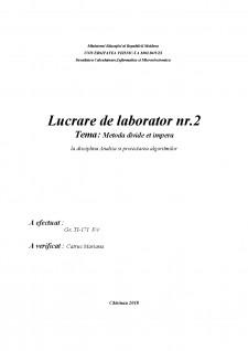 Metoda divide et impera - Pagina 1
