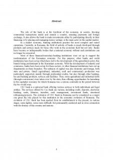 Rolul băncilor în economia de piață - Pagina 4