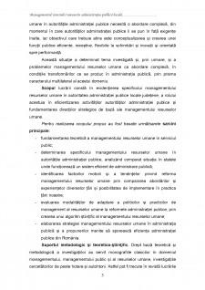 Managementul resurselor umane în administrația publică locală - Pagina 3