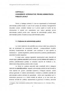 Managementul resurselor umane în administrația publică locală - Pagina 5