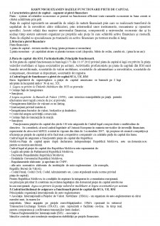 Răspunsuri examen bazele funcționării pieții de capital - Pagina 1