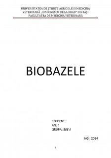 Biobazele - Pagina 1