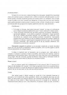 Virușii și amenințările lor - Pagina 2