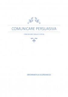 Comunicare persuasivă - Comunicare orală și scrisă - Pagina 1
